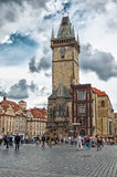 Czech Republic. Prague. The Old Town Square. June 13, 2016 Royalty Free Stock Photo
