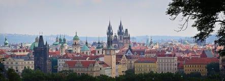 Czech Republic: Prague panorama Stock Images