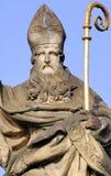 Czech Republic, Prague: statues. On st Charles bridge stock images