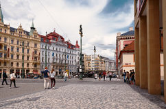 Czech Republic. Prague. Streets of Prague. June 13, 2016 Royalty Free Stock Photo