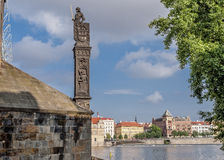 Czech Republic, Prague . View of the Mala Stranan from the Charl Stock Photos