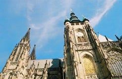 Czech republic, praha. Cathedral Stock Photo