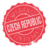 Czech Republic rubber stamp Royalty Free Stock Image