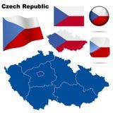 Czech Republic  set. Royalty Free Stock Photo