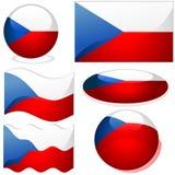 Czech republic Set Stock Image