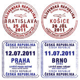 Czech Republic and Slovakia Royalty Free Stock Images