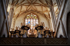 Czech Republic. St. Barbara`s Church of Kutna Hora. 14 June 2016. stock photo