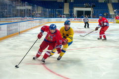 Czech Republic team forward Jan Peter (21) Royalty Free Stock Photography