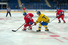 Czech Republic team forward Jan Peterek (21) Royalty Free Stock Image