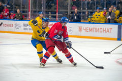 Czech Republic team forward Pavel Patera (10) Stock Photos