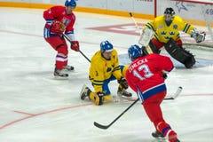 Czech Republic team forward Richard Zemlicka (13) Royalty Free Stock Photo