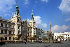 Czech Republic - town Pardubice Royalty Free Stock Image