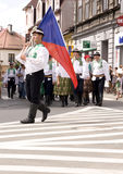 Czech Republic traditional folk group Stock Images