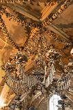 Czech Republic - UNESCO City Kutna Hora - Church Sedlec - Ossua. Ry stock photography