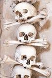 Czech Republic - UNESCO City Kutna. Hora - Church Sedlec - Ossuary stock photo