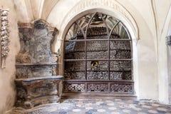 Czech Republic - UNESCO City Kutna. Hora - Church Sedlec - Ossuary royalty free stock photography