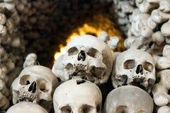 Czech Republic - UNESCO City Kutna. Hora - Church Sedlec - Ossuary royalty free stock image