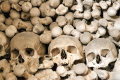 Czech Republic - UNESCO City Kutna. Hora - Church Sedlec - Ossuary stock images