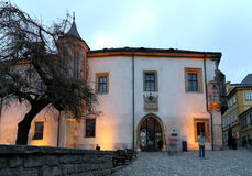 Czech Republic - UNESCO City Kutna Hora - Church St Jakuba (James, Jacob) Stock Image