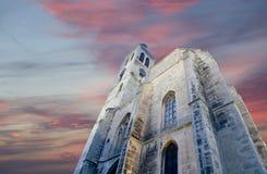 Czech Republic - UNESCO City Kutna Hora - Church St Jakuba (James, Jacob) Stock Images