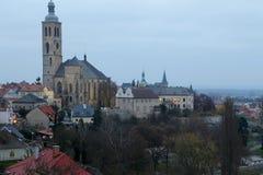 Czech Republic - UNESCO City Kutna Hora - Church St Jakuba (James, Jacob) Stock Photo