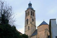 Czech Republic - UNESCO City Kutna Hora - Church St Jakuba (James, Jacob) Royalty Free Stock Photos