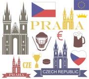 Czech Republic. Vector illustration (EPS 10 Royalty Free Stock Photography