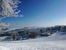 Czech Republic, Vysocina, Blatiny. Czech Republic - Blatiny, Vysocina, winter photo stock photography