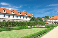 Czech Republic: Wallenstein Riding Hall in baroque garden. Royalty Free Stock Photography