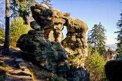 Czech rock town Stock Image
