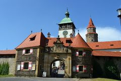 Free Czech, Romanesque Architecture, Tourism, Castle Bouzov, Olomouc, Beautiful View, Antiquary Royalty Free Stock Photo - 136908505