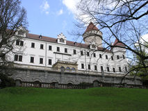 Czech's castle Royalty Free Stock Photography