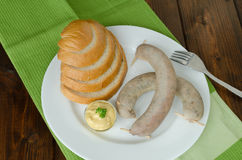 Czech sausage of pig slaughter Royalty Free Stock Photography