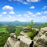 Czech-Saxony Switzerland. Beautiful landscape in Czech-Saxony Switzerland Stock Images