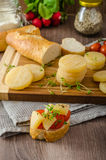 Czech smelly cheese - Olomoucke tvaruzky Royalty Free Stock Photo