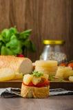 Czech smelly cheese - Olomoucke tvaruzky Royalty Free Stock Image