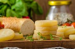 Czech smelly cheese - Olomoucke tvaruzky Stock Image