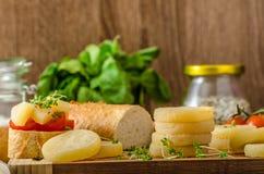Czech smelly cheese - Olomoucke tvaruzky Royalty Free Stock Images