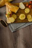 Czech smelly cheese - Olomoucke tvaruzky Royalty Free Stock Photos