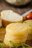 Czech smelly cheese - Olomoucke tvaruzky Stock Photos