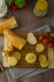 Czech smelly cheese - Olomoucke tvaruzky Royalty Free Stock Images
