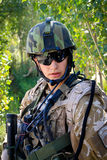 Czech soldier in Afghanistan