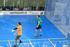 Czech squash - Jan Koukal and Petr Martin Stock Photography