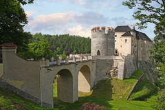 Czech Sternberk castle Stock Photos