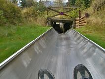 Czech-summer bobsled Stock Photography
