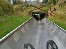 Czech-summer bobsled Stock Photography