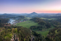 Czech Switzerland_View Point Royalty Free Stock Photos