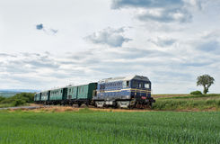 Czech train. This train is very history Stock Image