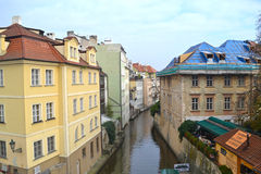 Czech Venice in Prague Stock Photography
