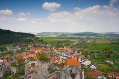 Czech Village Royalty Free Stock Photo